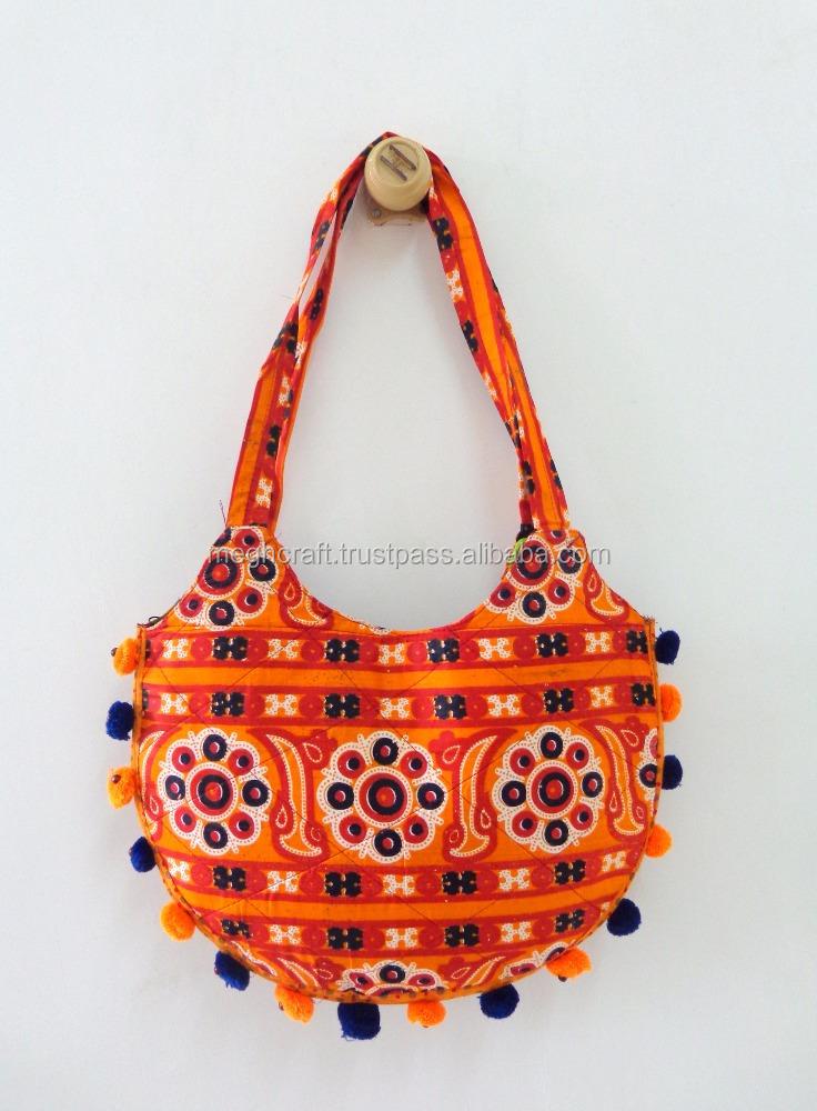 fb2dae23b7 Wholesale online buying handbag - Gujarati banjara style handbag - Vintage  ethnic boho hippie shoulder bag