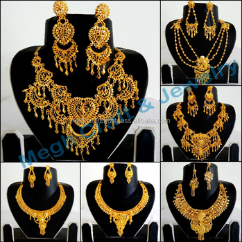 African gold plated Necklace Set Wholesale - Antique Gold Plated jewelry - Bridal jewelry -Designer  sc 1 st  Alibaba & African Gold Plated Necklace Set Wholesale - Antique Gold Plated ...