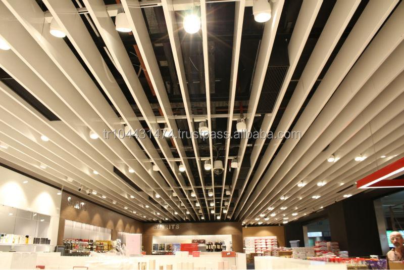 Aluminum Baffle Ceiling Buy Baffle Ceiling Hanging