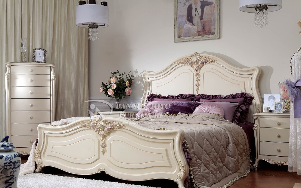 French Bedroom Furniture Set/ Italian Classic Luxury Adult Room Furniture/  Rococo French Furniture Palace Bedroom - Buy Antique Bedroom Furniture ...