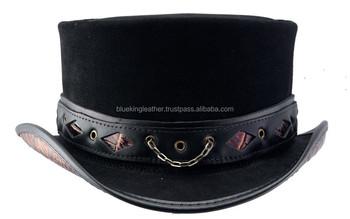 eeedfa82c0 Men's Gothic Hat W: Concho Belt Australian Style Hand Made - Buy ...