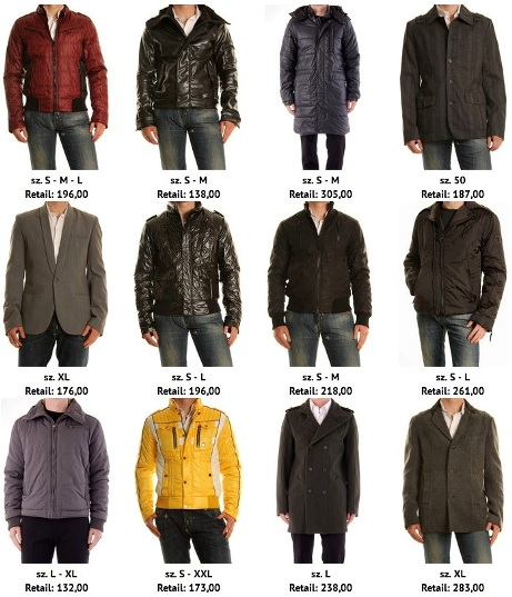 Man Jackets & Coats,Mixed,Fall/w.,Italian Brands: 'absolut ...