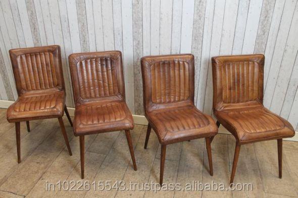 industrielle fer en cuir chaise chaise de bureau en cuir chaise de bureau id de produit. Black Bedroom Furniture Sets. Home Design Ideas