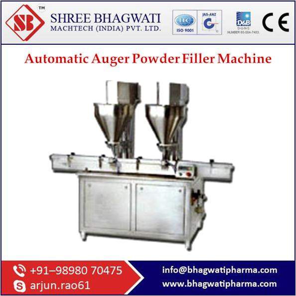 Automatic Auger Filling Machine With Latest Advance Specification