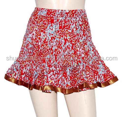 Sale !!!! Indian Designer Mini Skirts - Buy Indian Block Print ...