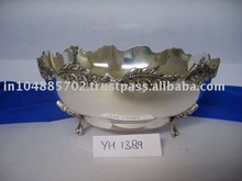 Silver Plated Fruit Bowl-Yh 1389