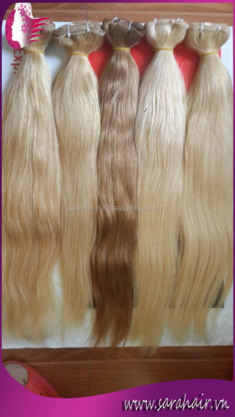Hot Sale Machine Weft Human Vietnamese Remy Hair Extensions 20 ...