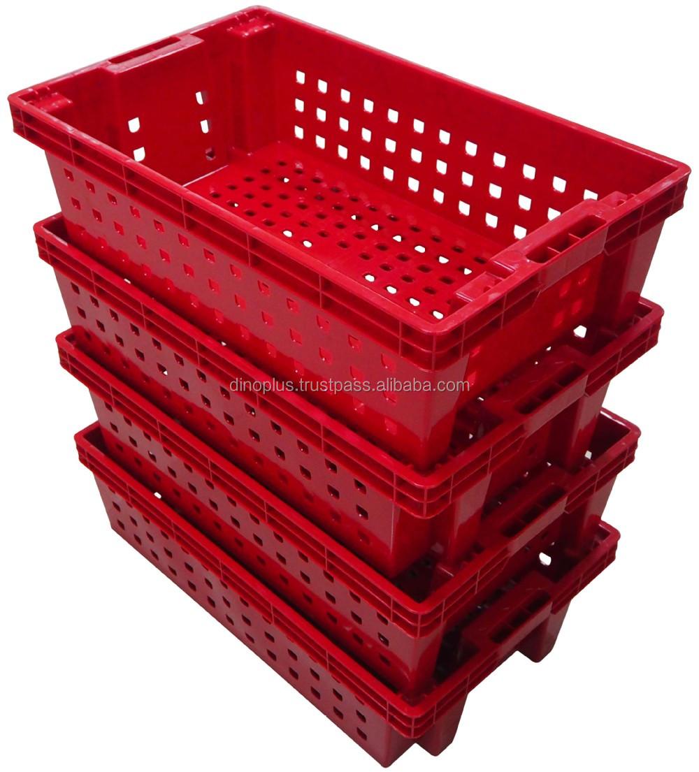 Rio Dct 601 Plastic Fish Crate Food Grade Ventilate Plastic