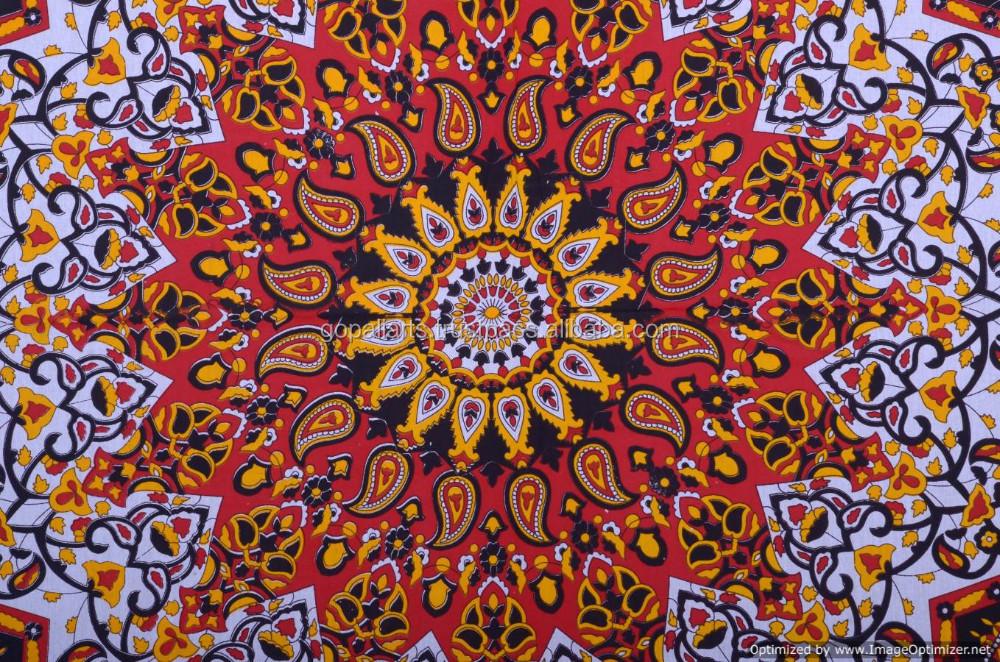 indischbraun sterne mandala strand deckblatt maroon gobelin wandbehang indisch hippie indischen. Black Bedroom Furniture Sets. Home Design Ideas