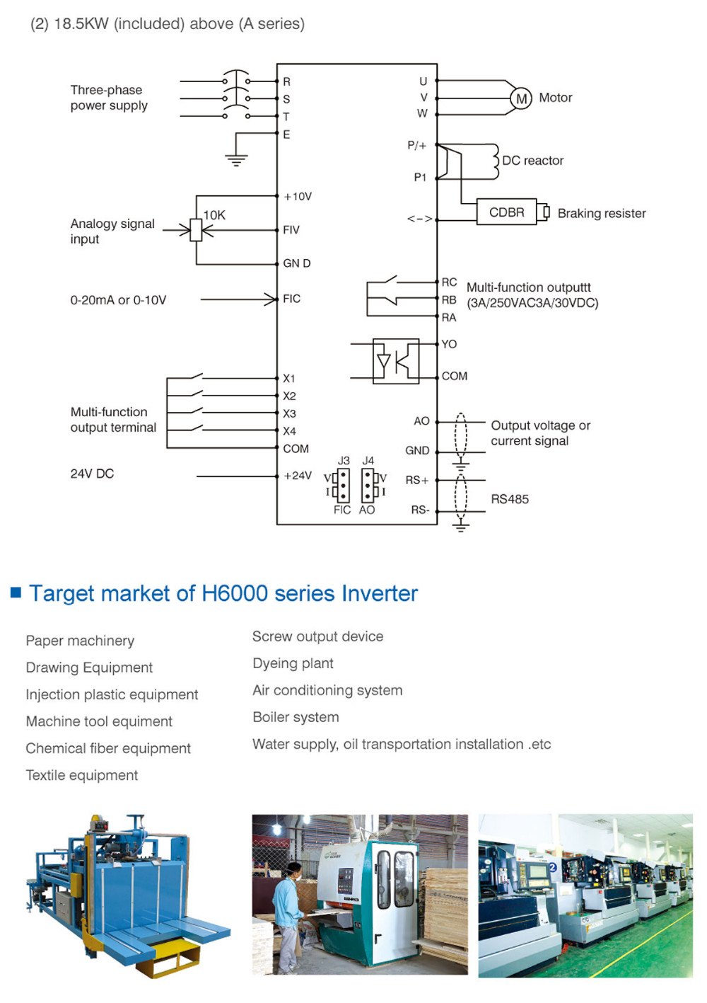 Variable Frequency Drive Vfd 3phase 220v 230v 240v 32a 75kw 10hp Ac 3 Phase Motor Wiring Diagram Vacon Delta