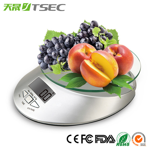 2017 Super Fashion TS-EK04 digital portable kitchen scale with bowl