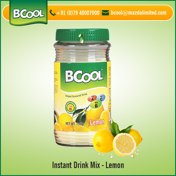 Lemon Flavor Powdered Instant Drink Mix for Bulk Buyers