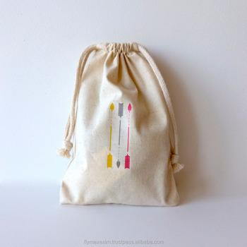 Indian Goo Bags Cotton Muslin Bag