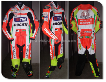 Ducati moto tuta in pelle moto ducati logo personalizzato opzione