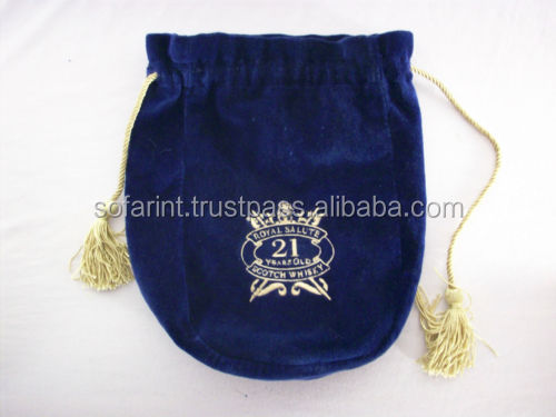 VELVET COIN BAG, JEWELLREY DRAWSTRING BAG & VELVET POUCH BAG