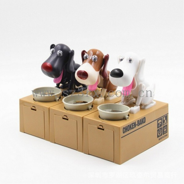 custom made piggy banks eating dog coin bank dog piggy