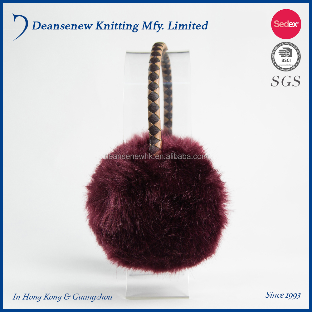 2018 New Custom Made Acrylic Fluffy Thick Fall Winter Warm Men Women Teen Multi Color Knit Earmuff With Music Speaker Headphone