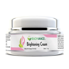 Brightening Cream With Shea Butter & Vitamins - By HEALTHVANCE