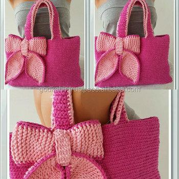 Bolsa De Crochetganchillo Embraguesbolsobolsosbolsasmano Knit