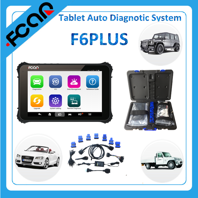 car diagnostic scanner tool F6PLUS for all cars