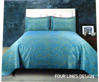 high quality 100% cotton bedspread with competitive price