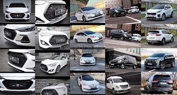 Korean Car Body Kits Aero Parts Accessories For Hyundai Kia