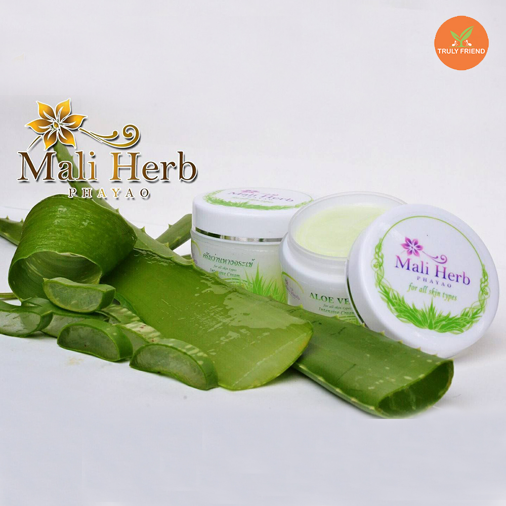 Herbal Aloe vera intensive cream, build collagen, Elastin, vitamin A,C,E , whitening, repair skin, extract from natural