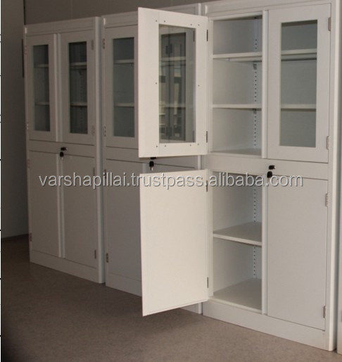 All Steel Lab Storage Cabinets, Utensil Cupboard Good Looking