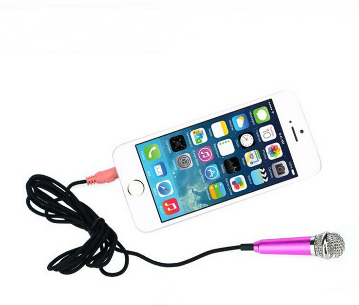 cheap 3.5mm mini microphone clip headset and speaker for ipod touch iphone/laptop