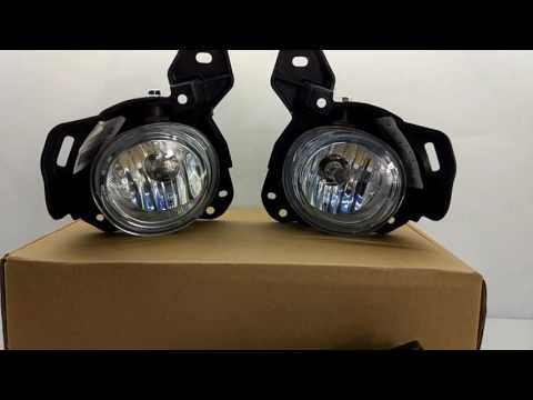 OEM Fog Lights Halogen Lamp Kit for Mazda CX-5 with Auto Head lamp