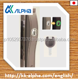 For center of sliding door , high quality and security affordable price silver lock ALPHA f4056 for sliding doors .
