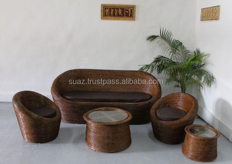 Stan Luxury Cane Bamboo Furniture