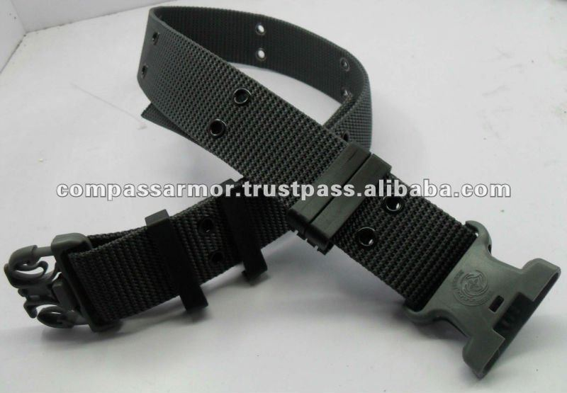 High Quality Cheap Military Tactical Belt Military Police Duty Canvas Belt