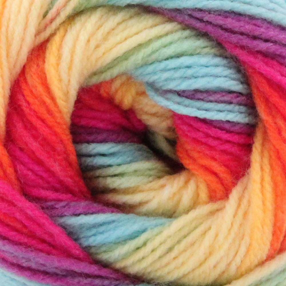 Wool Hand Knitting Yarn Papatya Batik 553-12