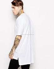 mens tall tee extra long side zip t shirts