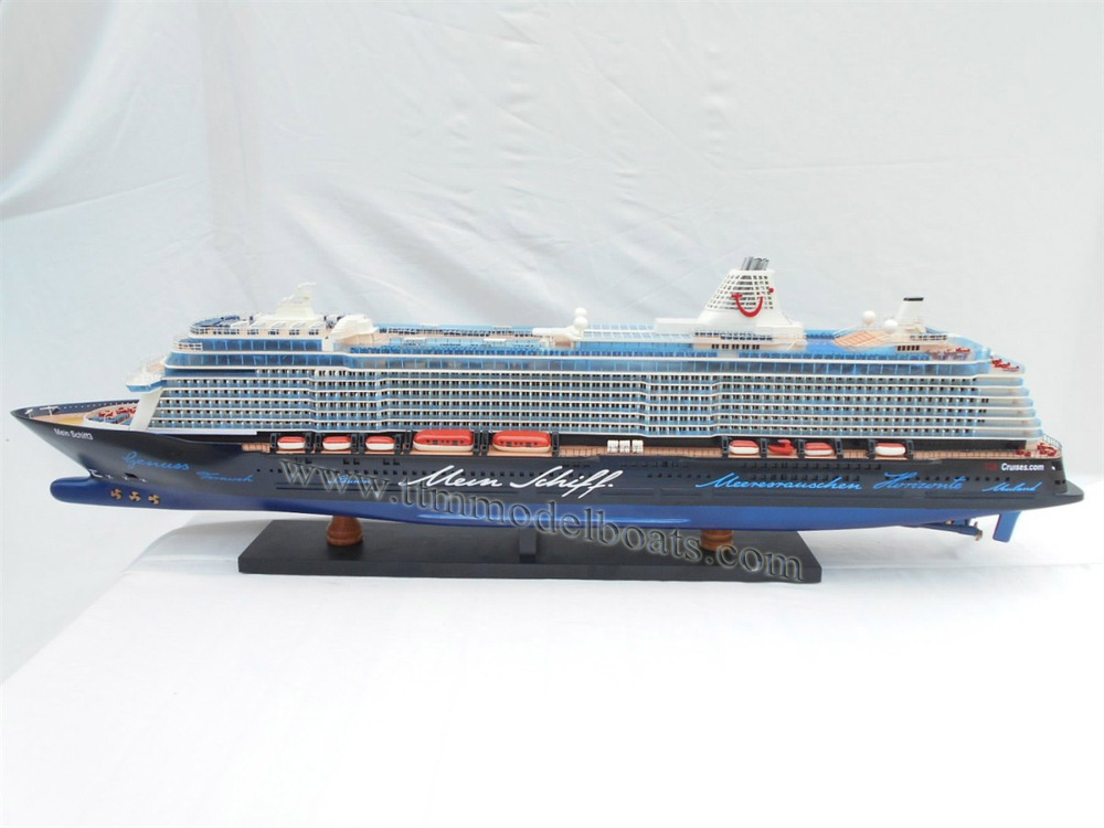 mein schiff 3 wooden boat model cruise ships buy. Black Bedroom Furniture Sets. Home Design Ideas