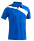 Wholesale High Quality 65% Polyester 35% Cotton Cheap Plain Blue Sport Polo T Shirt for Men