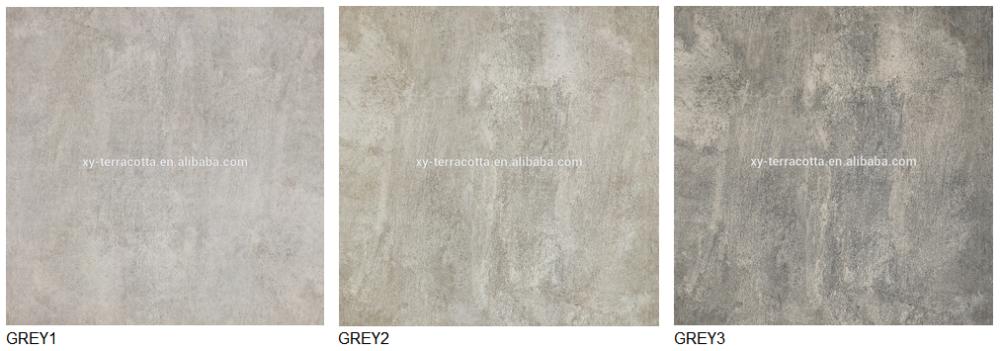Foshan Grau Gres Rustikale Porzellan Fliesen 60x60 Zement Farbe