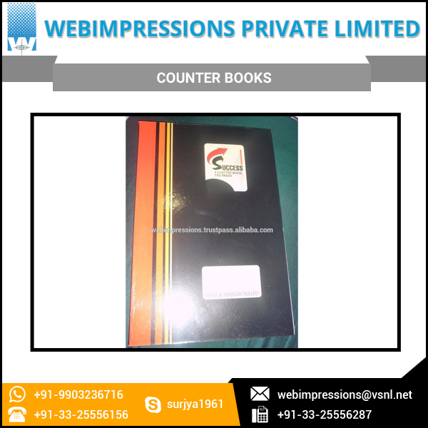 Widely Demanded Daily Basis Use Counter Books for Schools and Collages