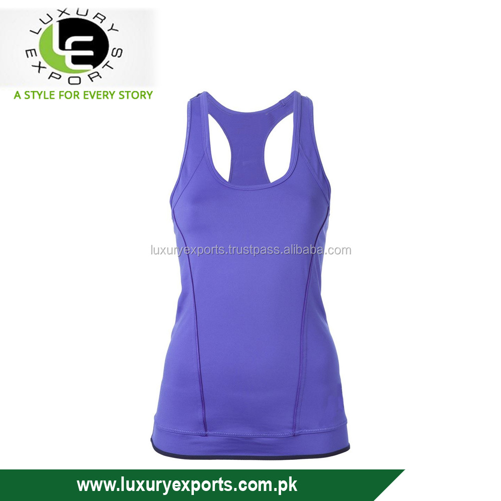 Hot 2017 Women Polyester Quick Dry Sexy Stringer Tank Top
