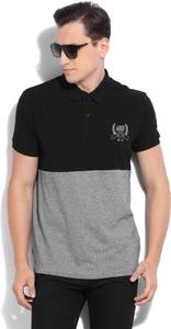 Cut and sew mens Polo t-shirt