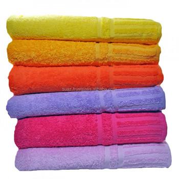 100% coton serviette de bain ensemble,pas cher promotionnel