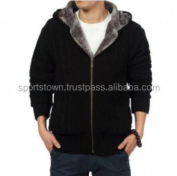 Men Black Fleece Hoodies,Custom Design Printing High ...
