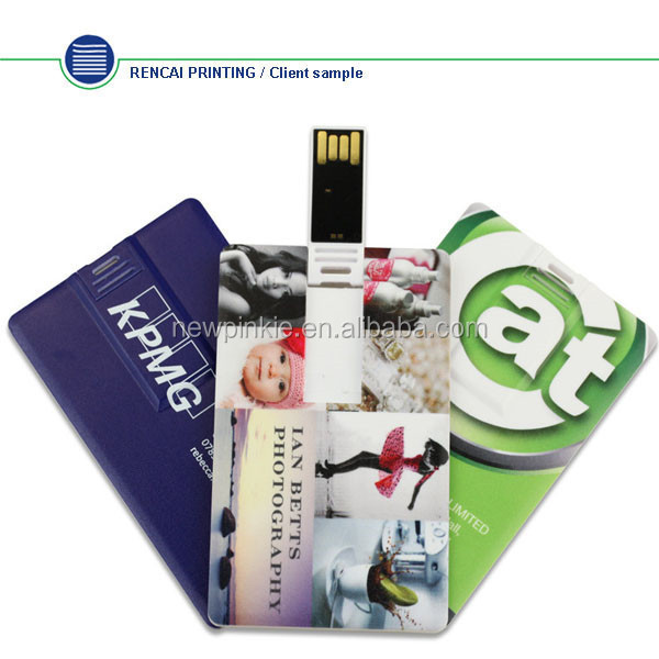 2017 hot selling usb card free sample, credit usb business card, business card usb flash drive