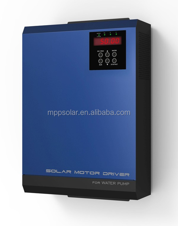 3 phase Solar water pump inverter 2.2kw Solar pump inverter solar water pump
