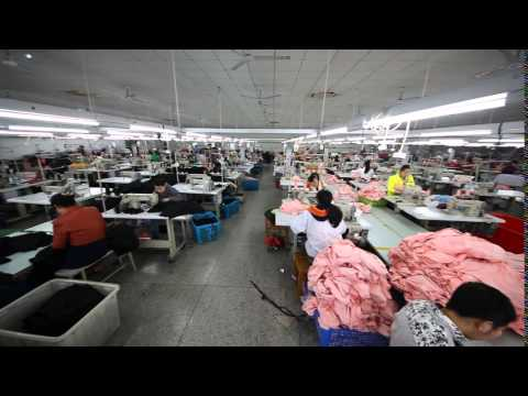 OEM garment factory in China