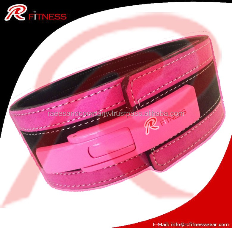 Genuine Leather Lever Weight Lifting Belt
