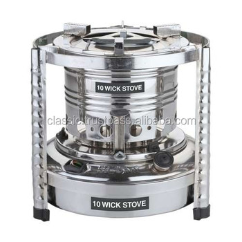 Classic Brand DIfferent Shape Chromium & Zink Plated Wick Stove