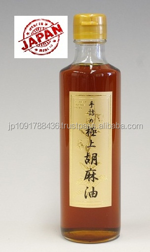 High Quality 100% Pure Sesame Oil/Refined Sesame Oil/Organic Sesame Oil Made in Japan 250g