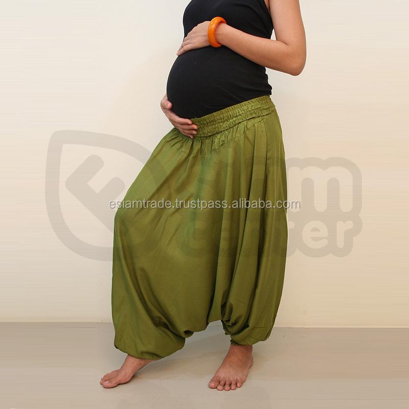 504695d2d Hippie largo pierna ancha barato embarazo ropa Bohemia al por mayor de ropa  barata